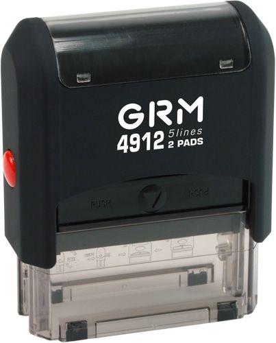 штамп автомат 4818